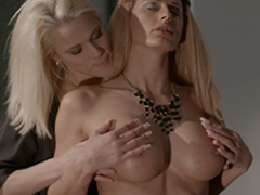 Chelsey Lanette & Debbie Pleasure in Two busty blondes get freaky - MagmaFilm