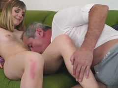 Teen banged by old dude