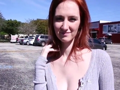 Dee Dee Lynn in Ginger Tits Gets Pounded