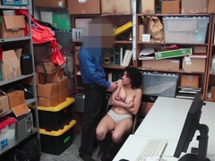LP Officer ravaging fuck Maya Morenas tight pussy