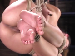 Roxanne Rae Is Tied Up And Feeling Horny