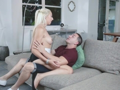 Jessica Jones takes bigdick in her tight pussy