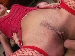 Tommy Steel in Hot Brunette Takes A Big Cock In Her Pussy And Ass - PrimeEuro