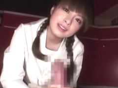 Crazy Japanese girl Hirono Imai in Best Couple, Stockings JAV movie