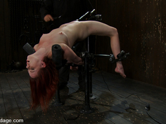 Lilla Katt in Bent backwards and made to cum over and over and over with no hope of escape - Devic.