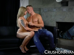Luxurious lady Ryan Riesling gets her pussy fucked from behind