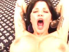 Racy buxomy Joslyn James