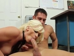 Kalee Brookshire sucks and rides a big one