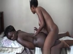African Bitches Pleasuring Each Other's Pussy