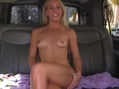 A beach blonde named Sunny Stone sucks dick