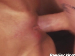 Raw Fucking Sex - Threesome Fuck With Chloe Conrad