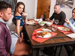 Krissy Lynn & Kimmy Granger & Seth Gamble in My Daughters New Boyfriend - MomsBangTeens