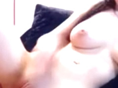 Small Girl with Huge Big Natural Tits Shaved Pussy