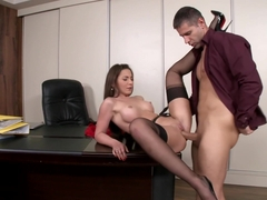 Perfect Anal fuck and orgasm for Julie Skyhigh.