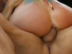 Romi Rain is a wealthy bitch who can not hold back from fucking her handsome driver