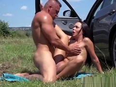 Young Slut Angelina Wild Loves Big Cock And Facial