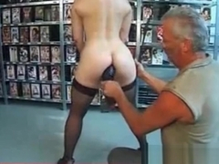Iam Pierced Mature slave heavy piercinhs Huge anal tool