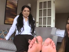 Pornhub Disclaimer 2.0 Jasmine Mendez And Daughter Foot Spell