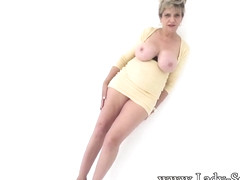 Big tit blonde mature Lady Sonia has a filthy mind