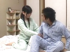 Best Japanese chick Rui Saotome in Fabulous Blowjob, Amateur JAV clip
