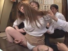 Best Japanese girl Azusa Maki in Crazy Doggy Style, Cunnilingus JAV clip