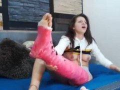 Cam Girl Leg Cast