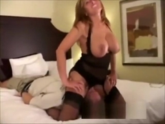 HotWife Fucked in All Holes and Anal Creampied by BBC in Miami Hotel