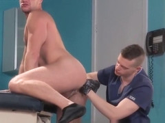 Brian Bonds Gets Fisted...By His DOCTOR!!