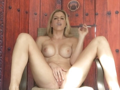 Cory Chase Smoking