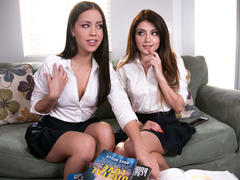 Adria Rae & Alina Lopez in School's Out: The Tutor Redux, Scene #01 - GirlsWay