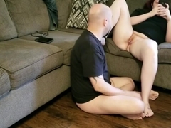 Ignored By Slut, while I eat Pussy and Lick Feet (Part 4)