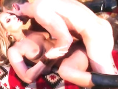 Fetching busty young tart Melissa XoXo performing in amazing creampie porn video