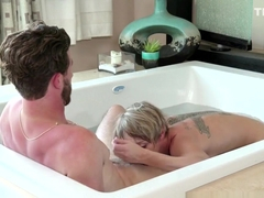 Wet and Messy Milf Masseuse Pounded