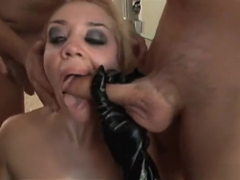 Racy Annette Schwarz having a wild group sex