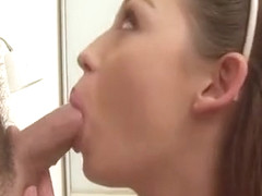 Stud Pounds Beauty's Taut Cunt Mightily With His Hard Ramrod