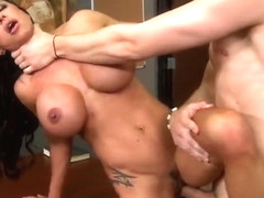 Hot mom sex video featuring Jeremy Austin and Jewels Jade