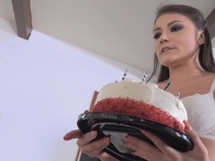 Adria Surprised Her Boyfriend With Her Sexy And Hot Friends