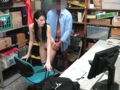 Nubile Sweety Alex Gets Banged By The Officer