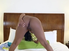 Black Teen Monique Symone Takes White Penis