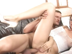Petite beauty Claudia Rossi can handle big cock up her ass