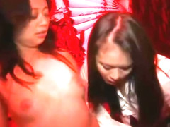 Bald pussy sex video featuring Evelyn Lin and Mia Lelani