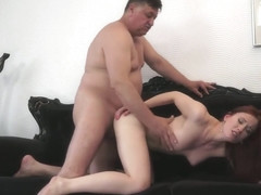 Hot ass Czech with old man