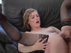 Kinky Blonde Teen Babe Ella Nova Banged By Big Black Cock