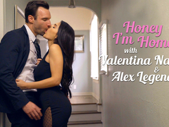 Alex Legend & Valentina Nappi in Honey Im Home - NFBusty