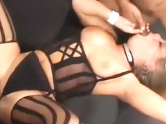 Slutty Andy San Dimas Does Interracial Doggystyle