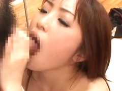 Exotic Japanese model Rara Kazami, Yui Komiya in Hottest JAV clip