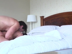 Anal slut Samia Duarte with a nice ass!