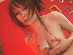 Horny Japanese girl Risa Arisawa in Amazing POV, Cunnilingus JAV movie