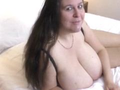 Busty British Bbw Denise Davies, Rare Fuck And Facial