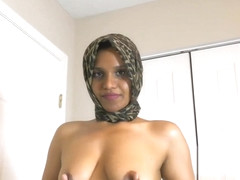 Muslim Indian Made By Boss To Be Slutty